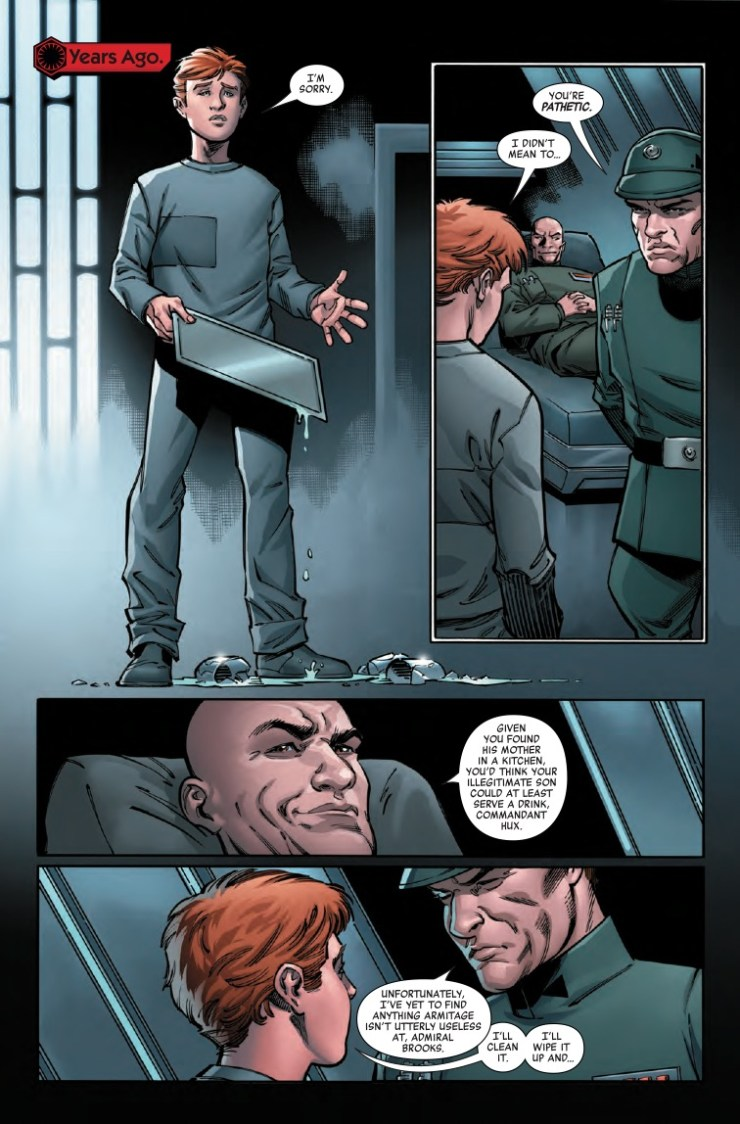 Marvel Preview: Star Wars: Age Of Resistance: General Hux #1
