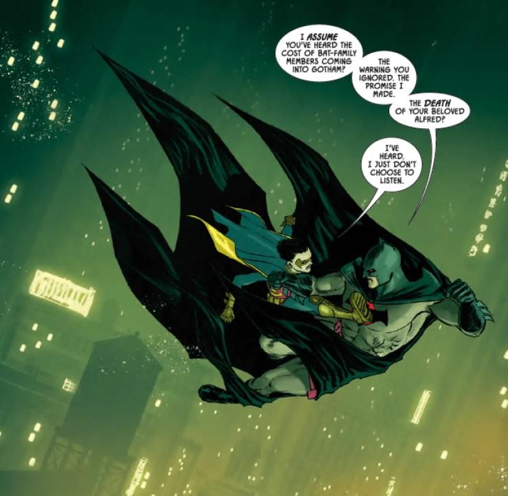 Robin makes a grave mistake in Batman #77