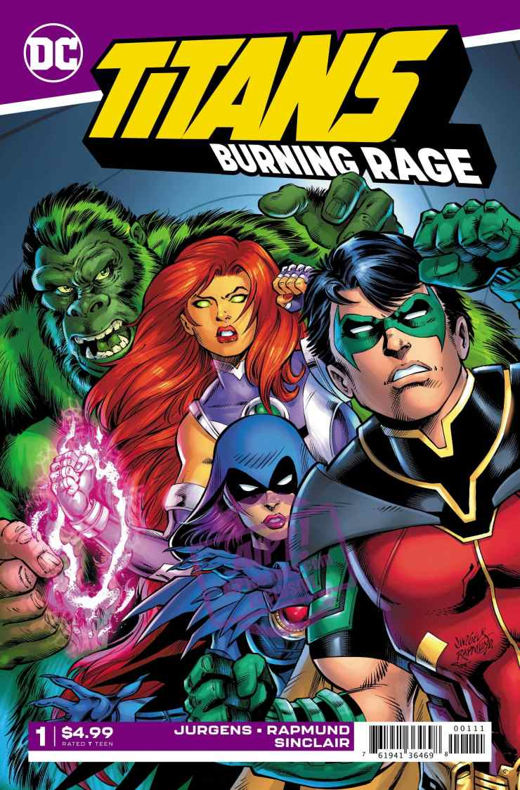 EXCLUSIVE DC Preview: Titans Burning Rage #1