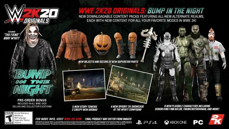 'The Fiend' Bray Wyatt headlines WWE 2K20's first Originals pack