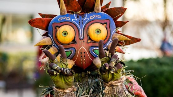 This Skull Kid cosplay by Rbf looks like it just stepped straight out of The Legend of Zelda: Majora's Mask game.