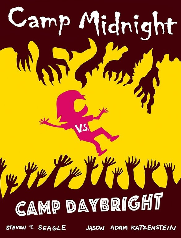 Camp Midnight vs. Camp Daybright hit stores this October.