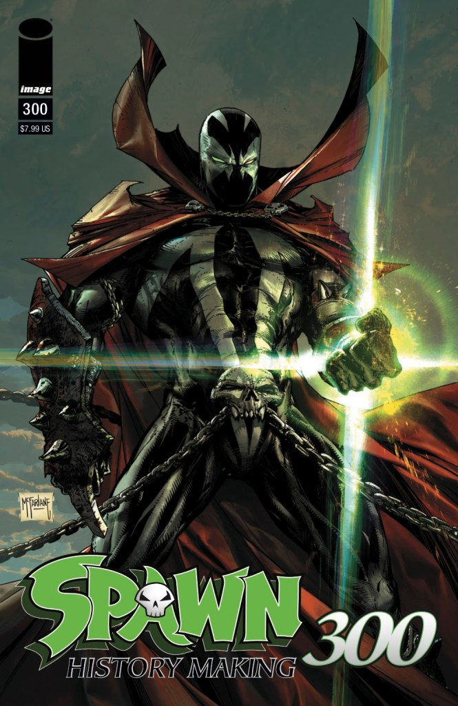 Image Comics reveals Todd McFarlane Spawn #300 covers