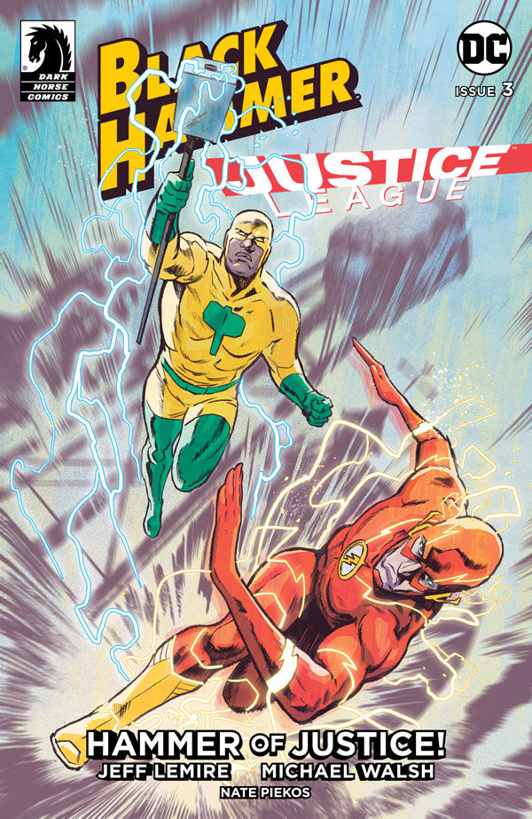 EXCLUSIVE Dark Horse Preview: Black Hammer/Justice League: Hammer of Justice #3