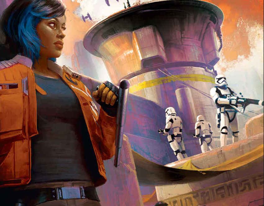'Star Wars: Black Spire' review: A great character driven story about the setting up of Batuu's Resistance Base