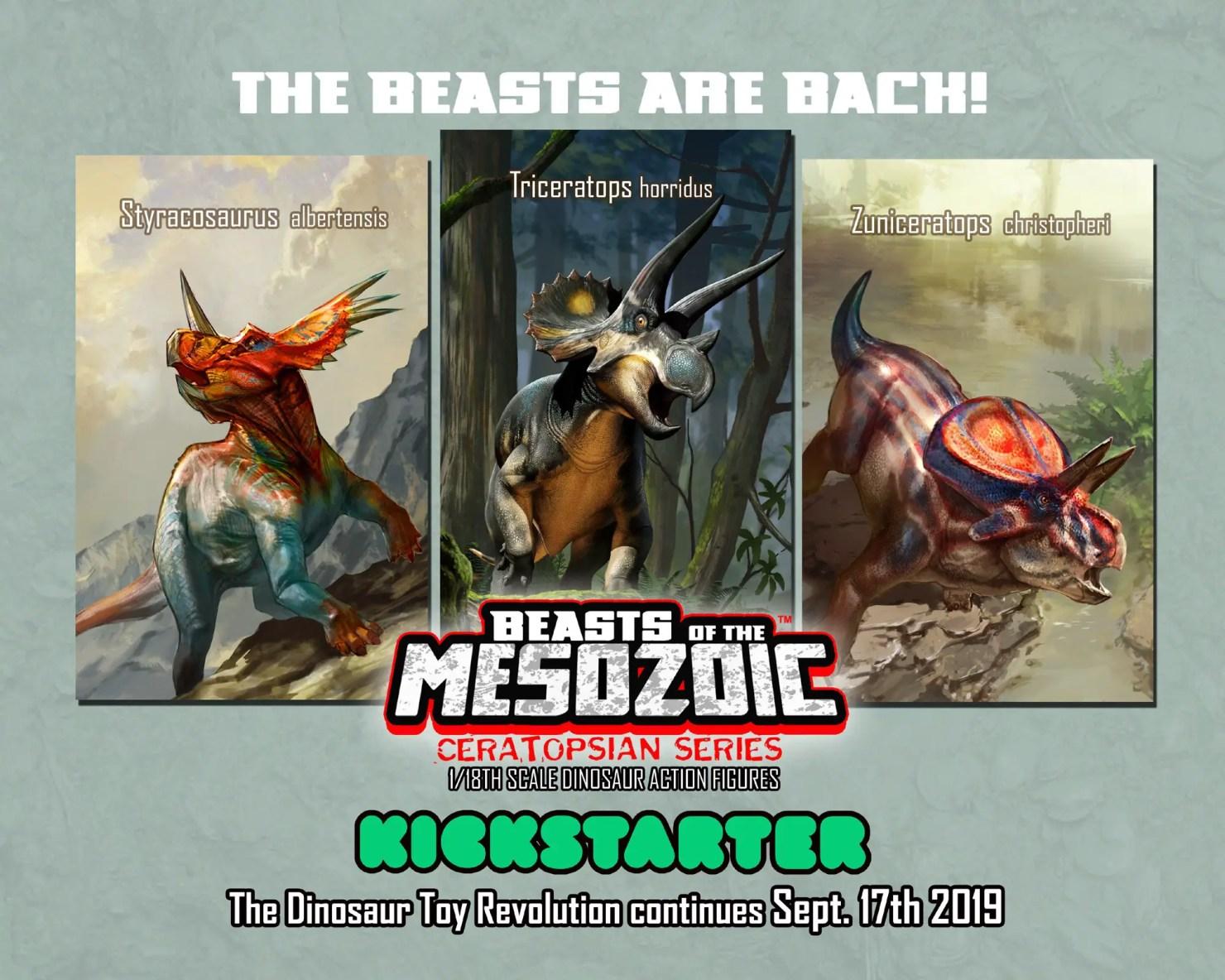 Beasts of the Mesozoic: Ceratopsian Series Kickstarter is already fully funded