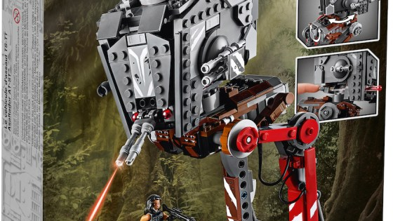 LEGO reveals AT-ST Raider set from Disney+ show 'The Mandalorian'