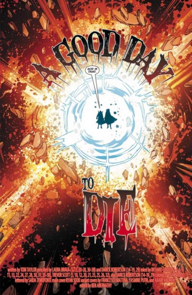 DCeased: A Good Day to Die #1 Review