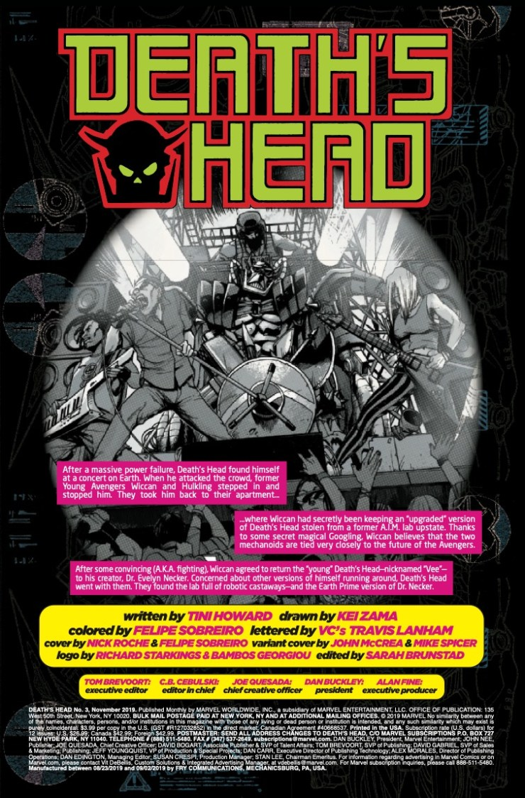 Marvel Preview: Death's Head #3