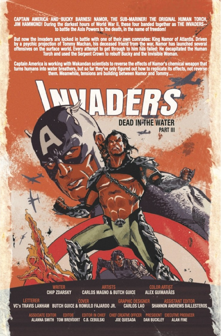 Marvel Preview: Invaders #9