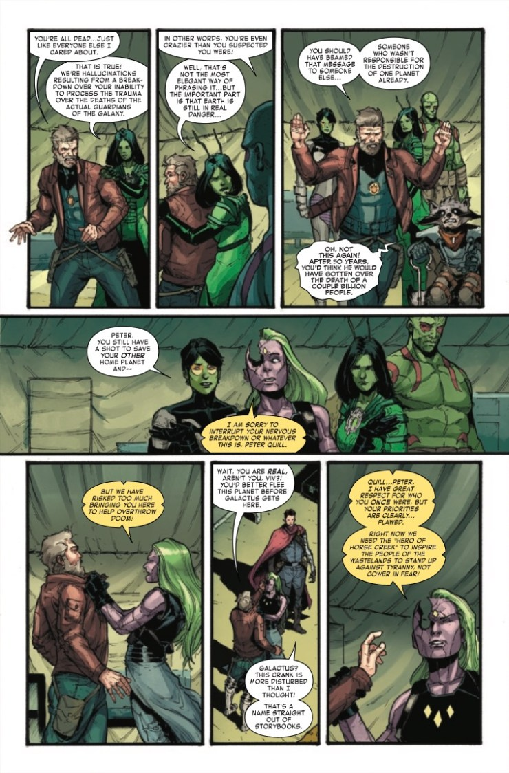 Marvel Preview: Old Man Quill #10