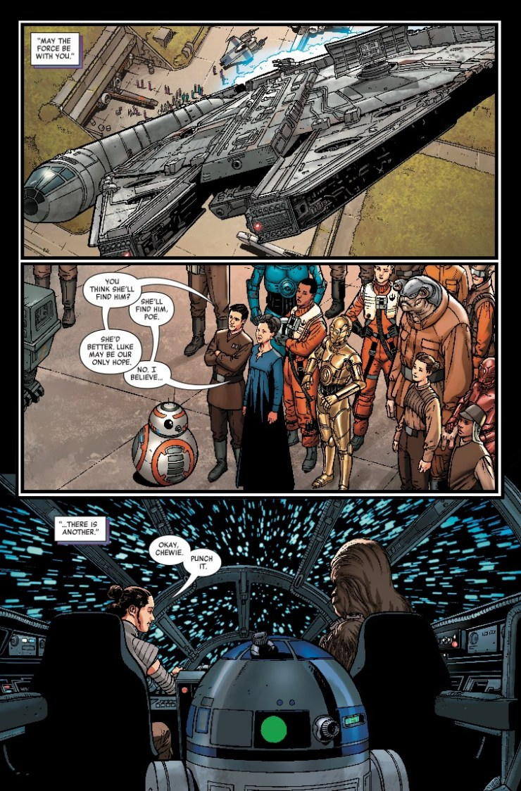 Marvel Preview: Star Wars: Age Of Resistance - Rey #1