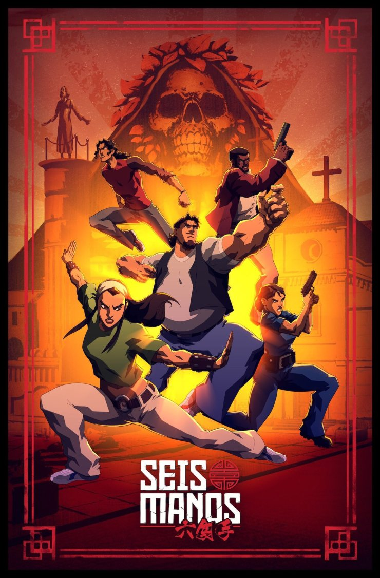 Viz, Netflix, and Powerhouse Animation studios team up for Seis Manos anime series