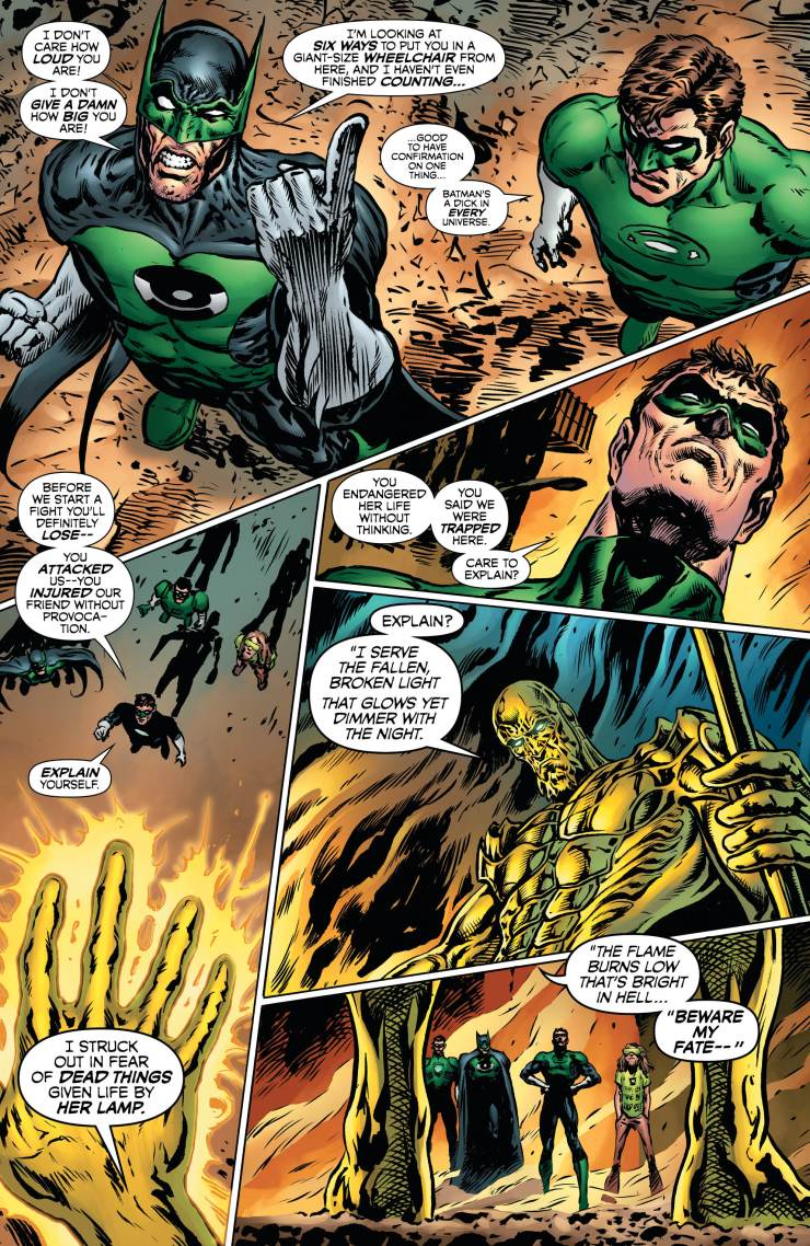 The Green Lantern #11 Annotations: Mysteries In Space