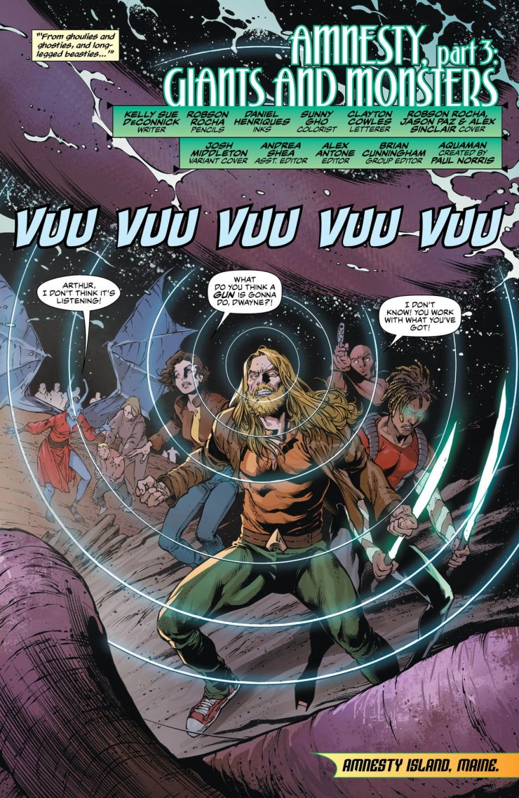Aquaman #52 Review: Monsters