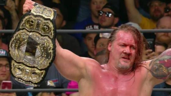 Chris Jericho crowned first ever AEW World Champion