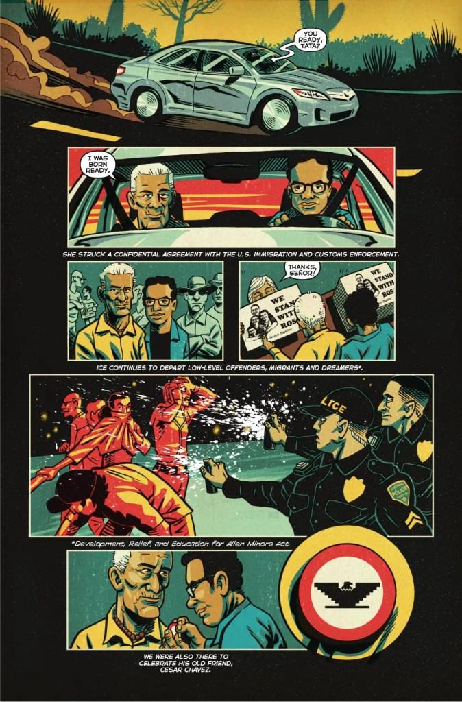 Image announces original graphic novel, La Voz de M.A.Y.O.: Tata Rambo, arrives this November