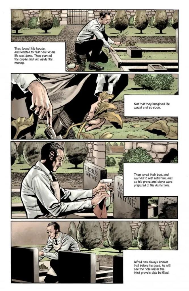The Batman's Grave #1 review