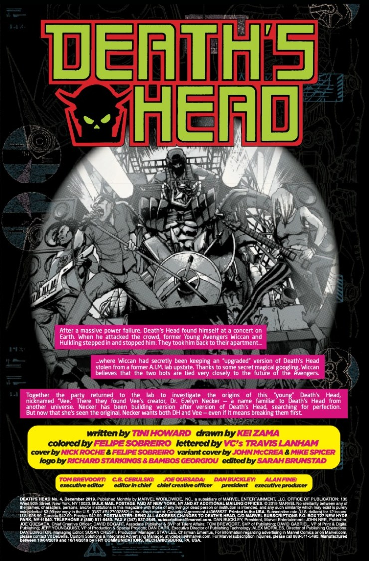 Marvel Preview: Death's Head #4