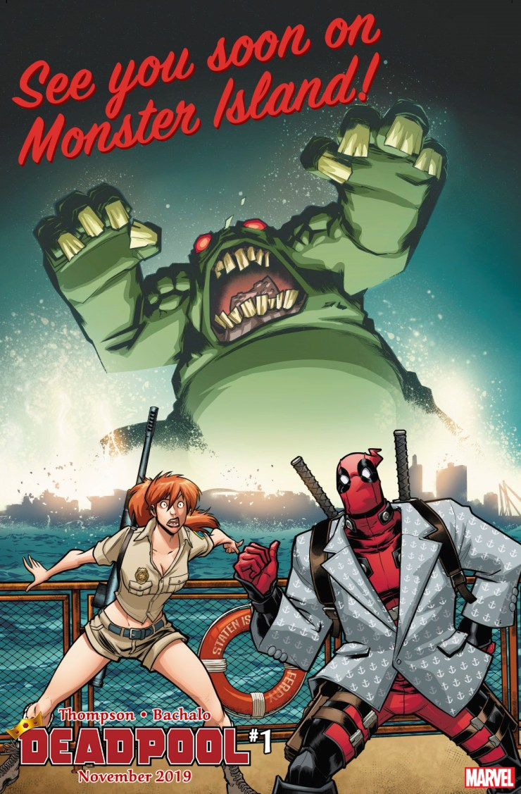 Deadpool #1 hits comic shops on November 20, 2019.