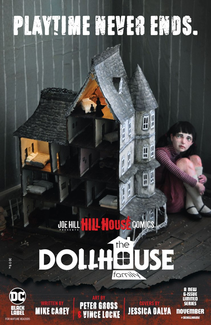 Hill House Comics First Look: The Dollhouse Family #1