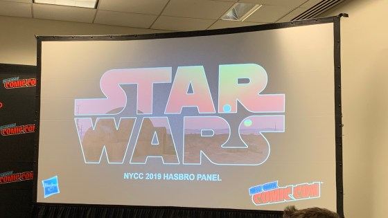 A slew of new figures spanning the entire Star Wars timeline was announced today.