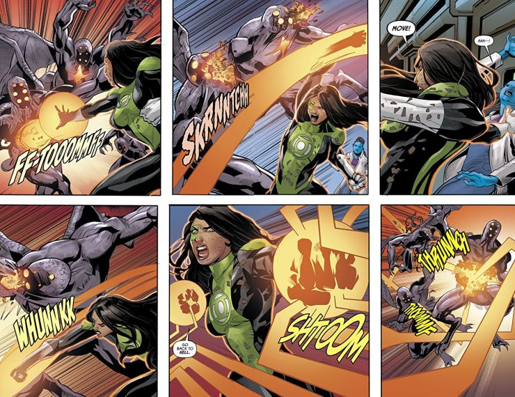 Justice League Odyssey #14 review: Masks