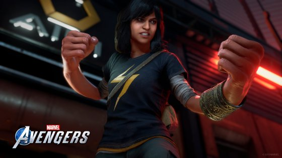 Ms. Marvel will be one of 6 playable Avengers and the game's protagonist.