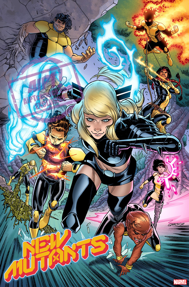 New Mutants #1 will be released on November 6, 2019.