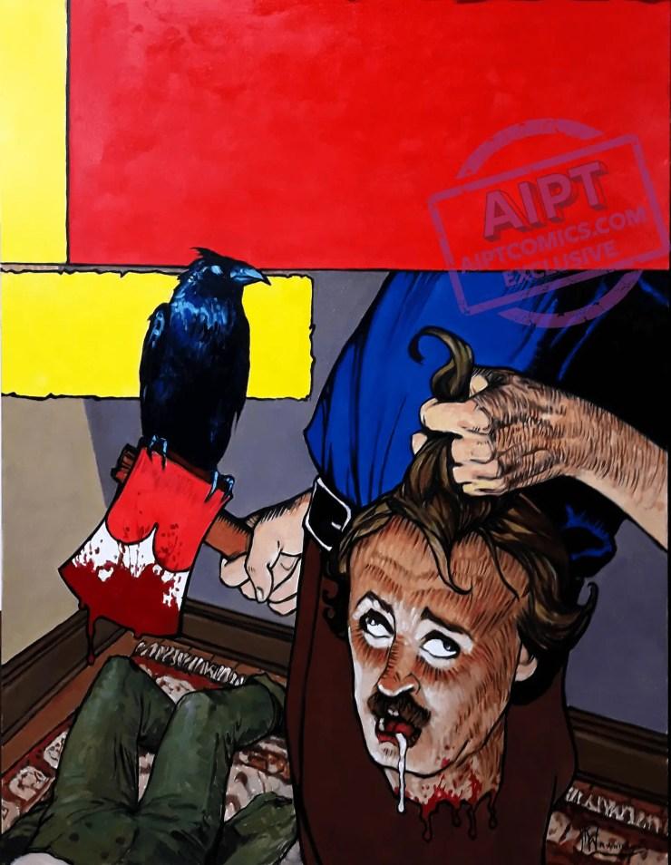 EXCLUSIVE AHOY First Look: Edgar Allan Poe's Snifter of Terror Season 2 #4 and #5