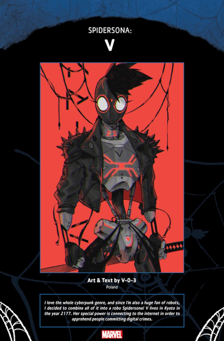 Marvel Comics reveals three of the 'Spidersona' characters appearing in 'Spider-Verse' #1