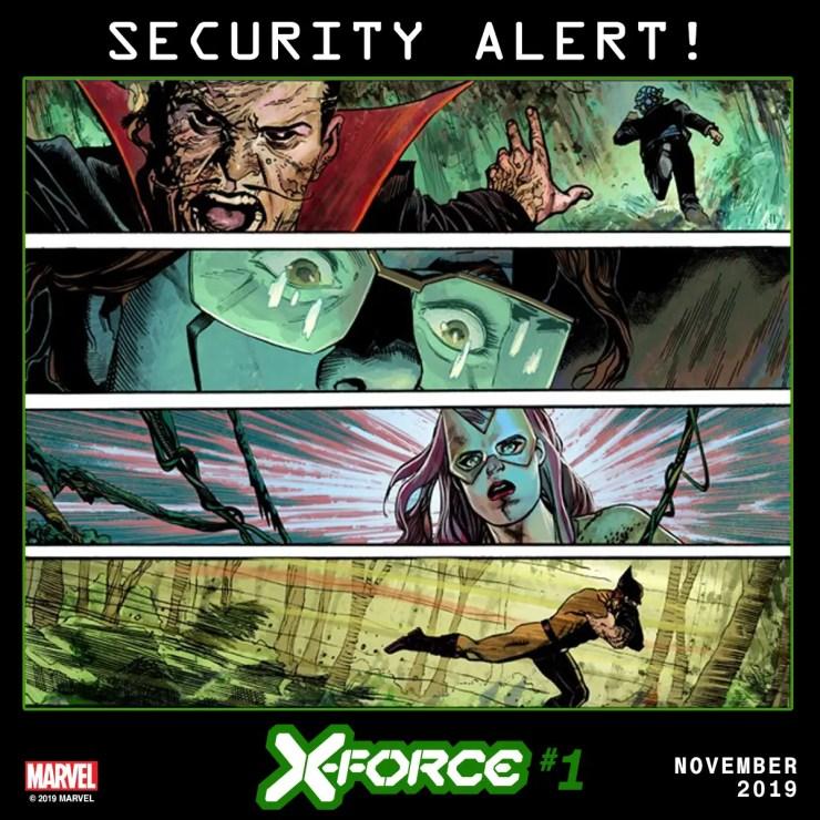 "Marvel reveals a ""Security Alert"" on Krakoa in new X-Force teaser"