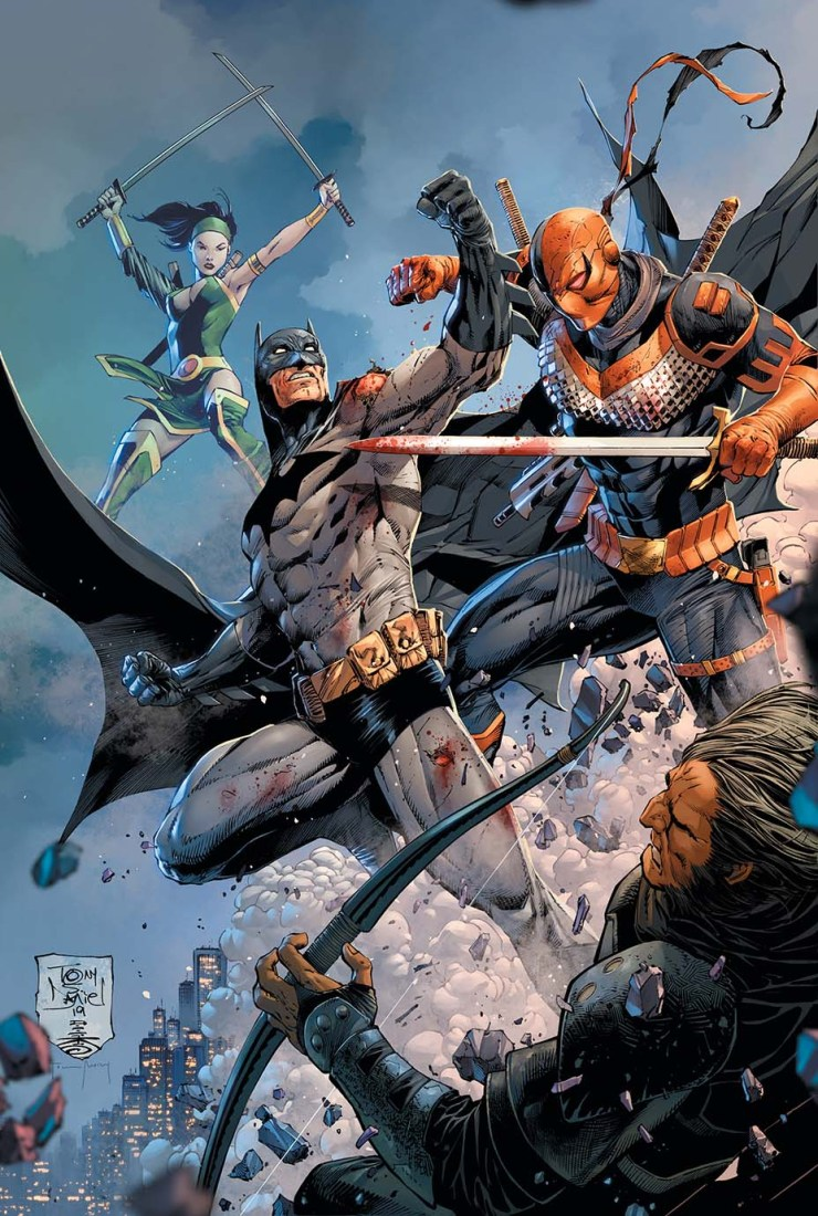 First up on the menu for Batman in 2020 under the new creative team: the return of Deathstroke!
