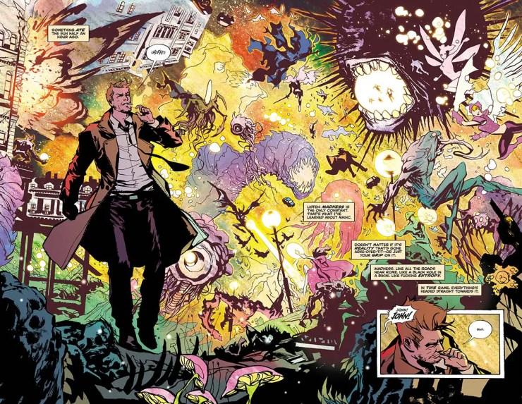 The Sandman Universe Presents: Hellblazer #1 Review