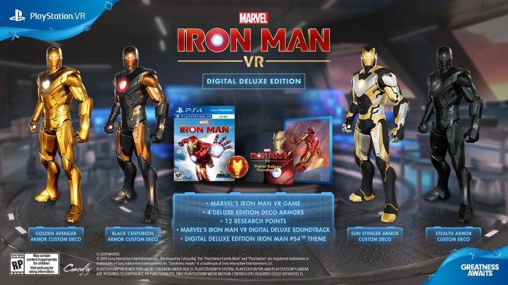 NYCC 2019: Marvel Games Announces 'Iron Man VR' Release Date and Villain