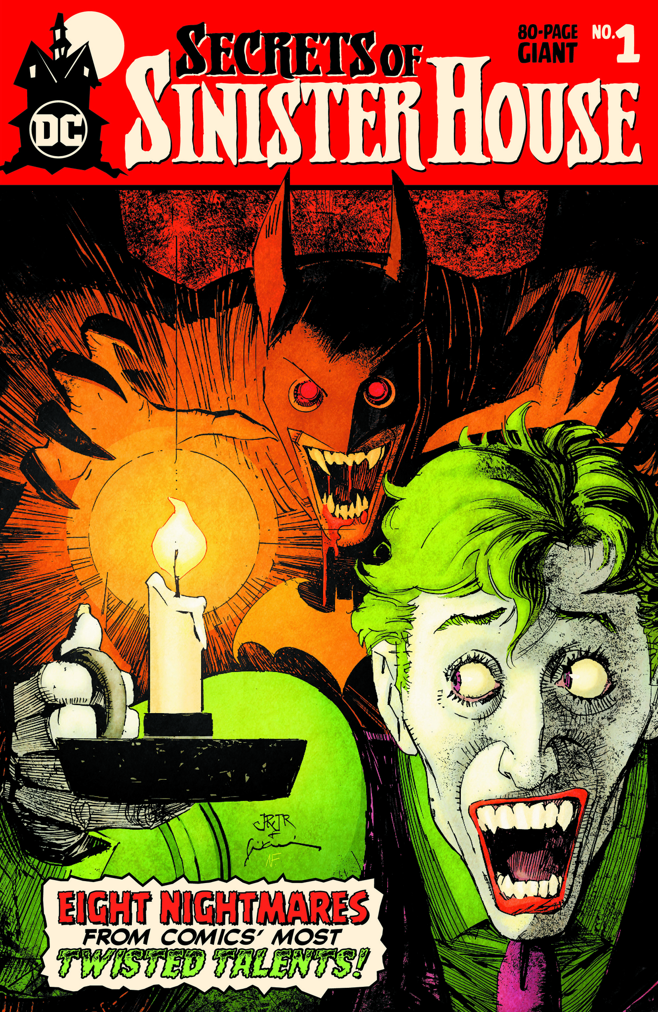 Secrets of Sinister House #1 review: one hell of an anthology from DC