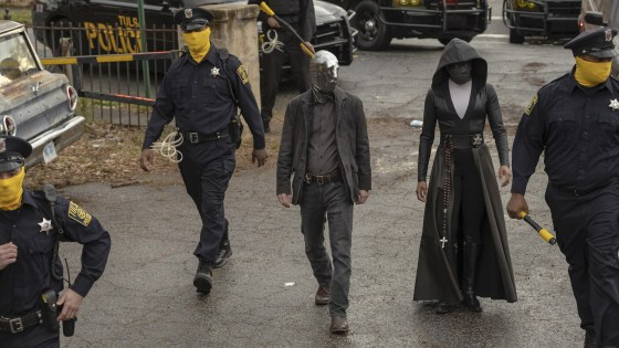 The cast of HBO's Watchmen talks adapting such a beloved work to television
