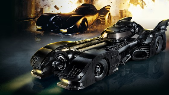 There are only a handful of vehicles from the cinema that sticks with us and yes the majority of them are Batmobile's! Thanks to LEGO we can celebrate one of the most iconic versions of the Batmobile with a new set out November 26th. The 3,306 piece set will run you $249.99 and comes with a rotating stand, three new minifigures, and a variety of features on the vehicle itself.