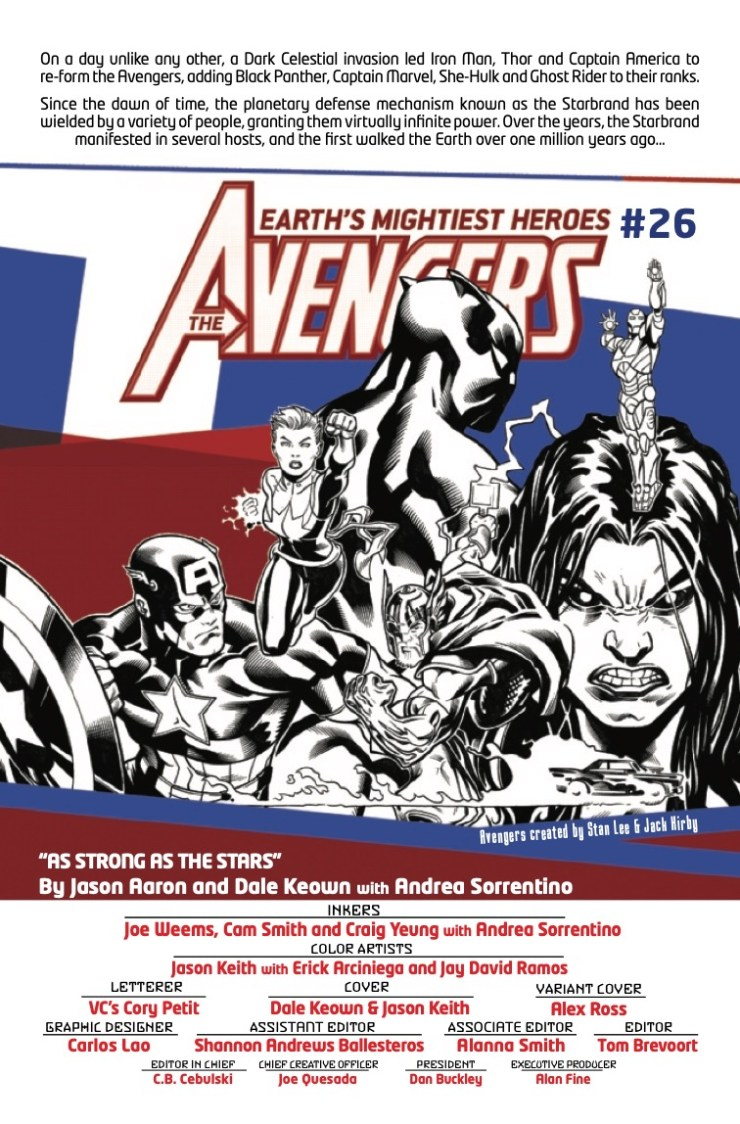 Marvel Preview: Avengers #26