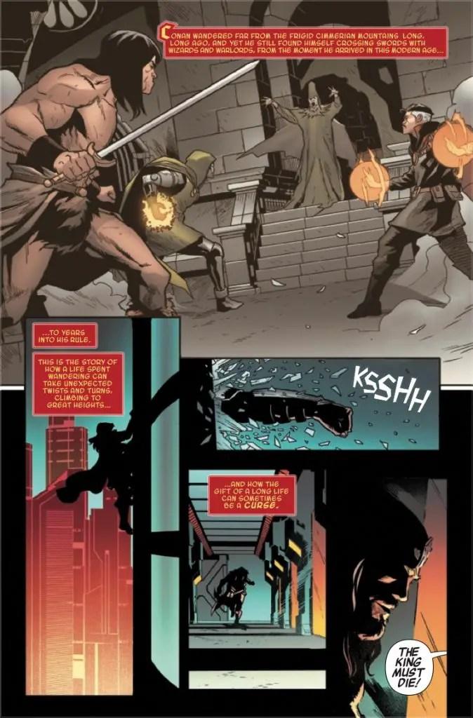 Conan 2099 #1 Review