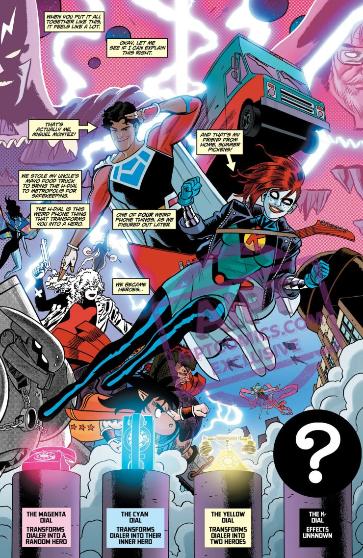 EXCLUSIVE DC Preview: Dial H for Hero #9