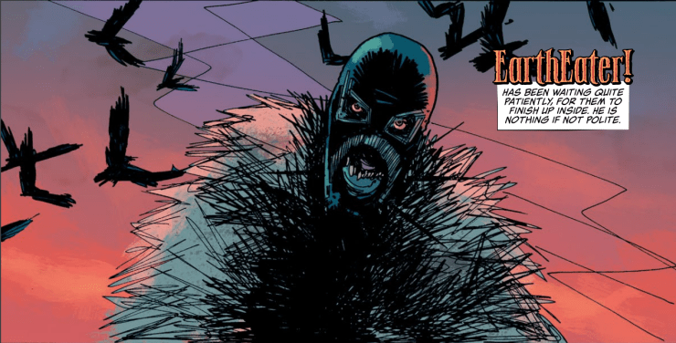 Coffin Bound #4 review: Now