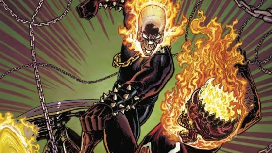 King of Hell Johnny Blaze vs. the Spirit of Vengeance Danny Ketch!