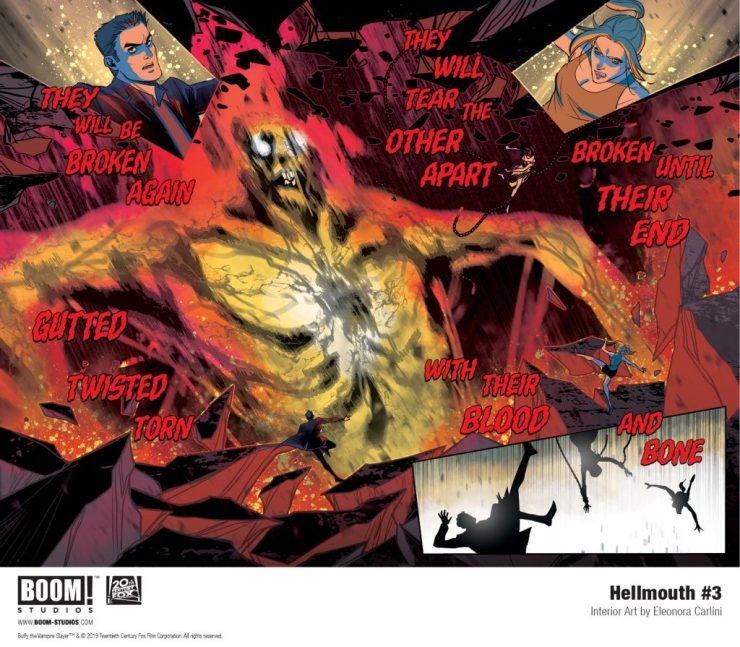EXCLUSIVE BOOM! Preview: Hellmouth #3