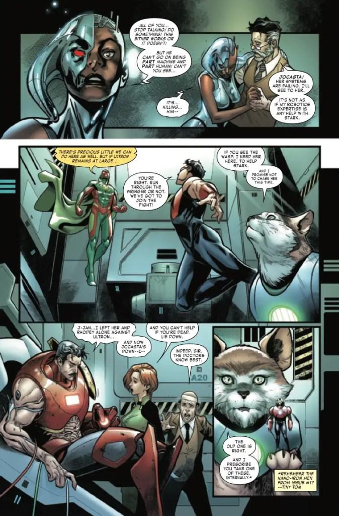 Marvel Preview: Tony Stark: Iron Man #18