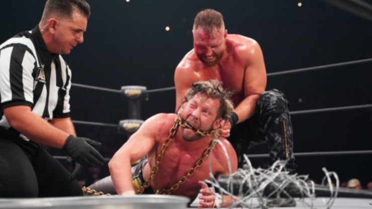 Jon Moxley vs. Kenny Omega toed the line between creativity and depravity