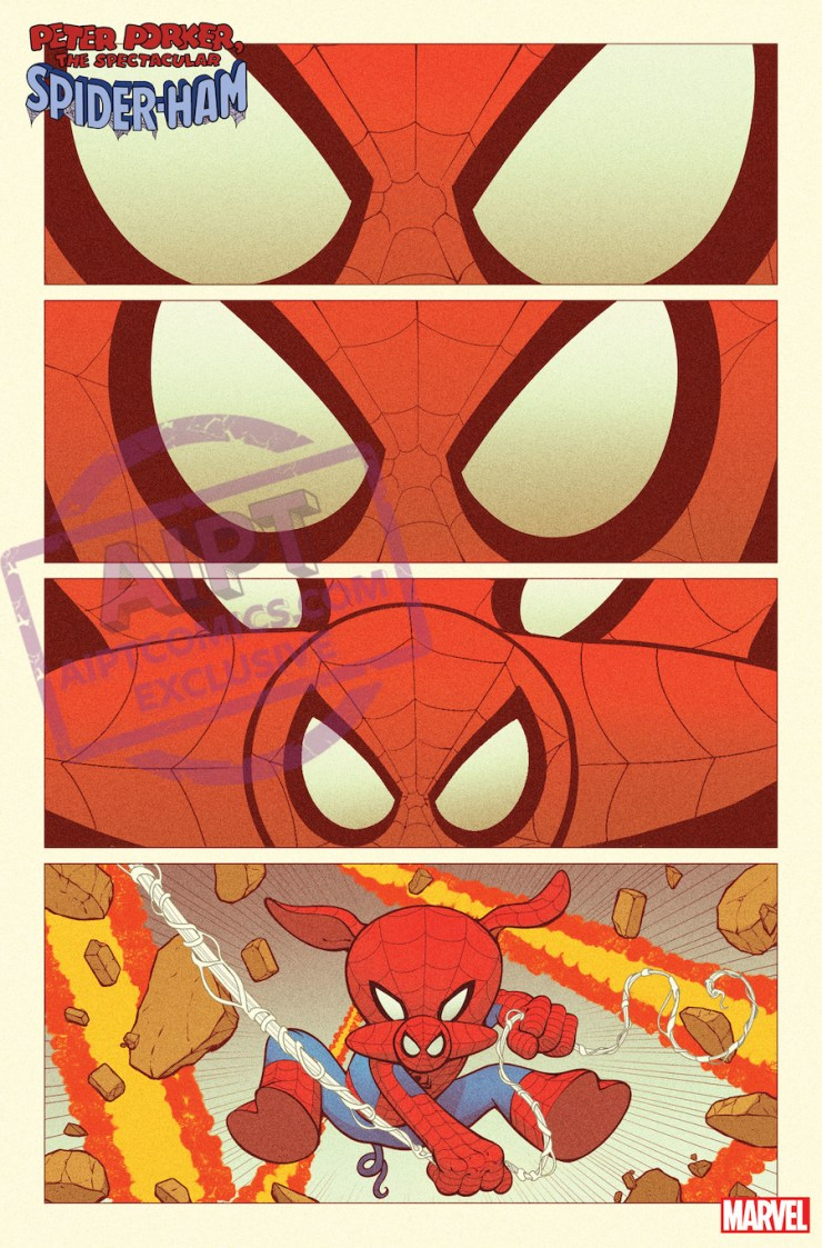 EXCLUSIVE Marvel First Look: Spider-Ham #1