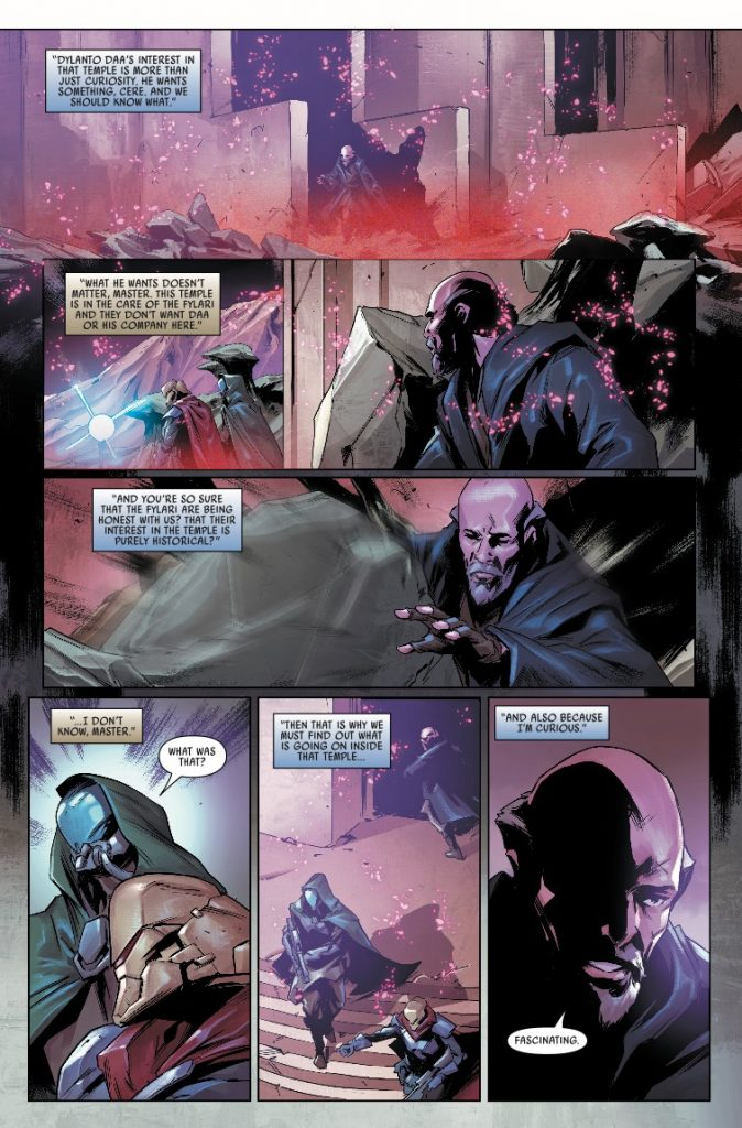 Marvel Preview: Star Wars: Jedi - Fallen Order, Dark Temple #4