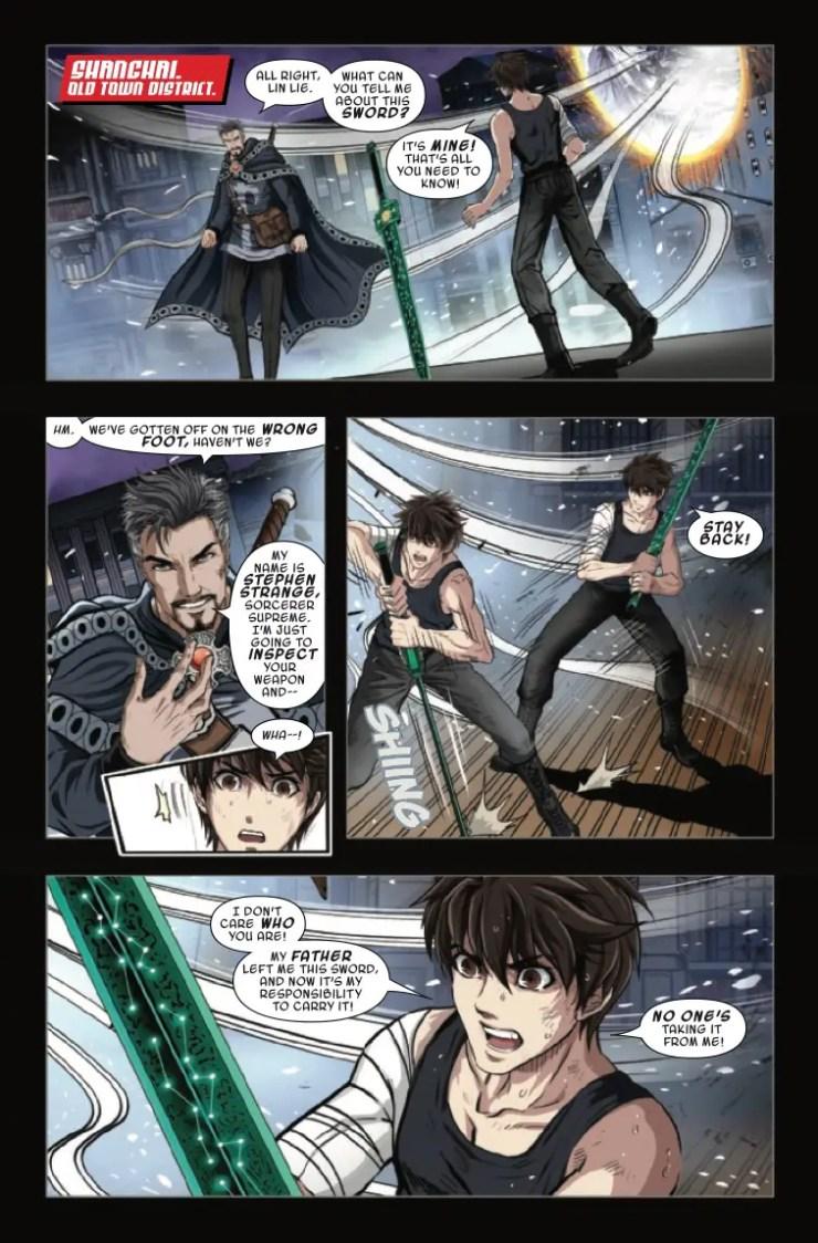 Marvel Preview: Sword Master #6