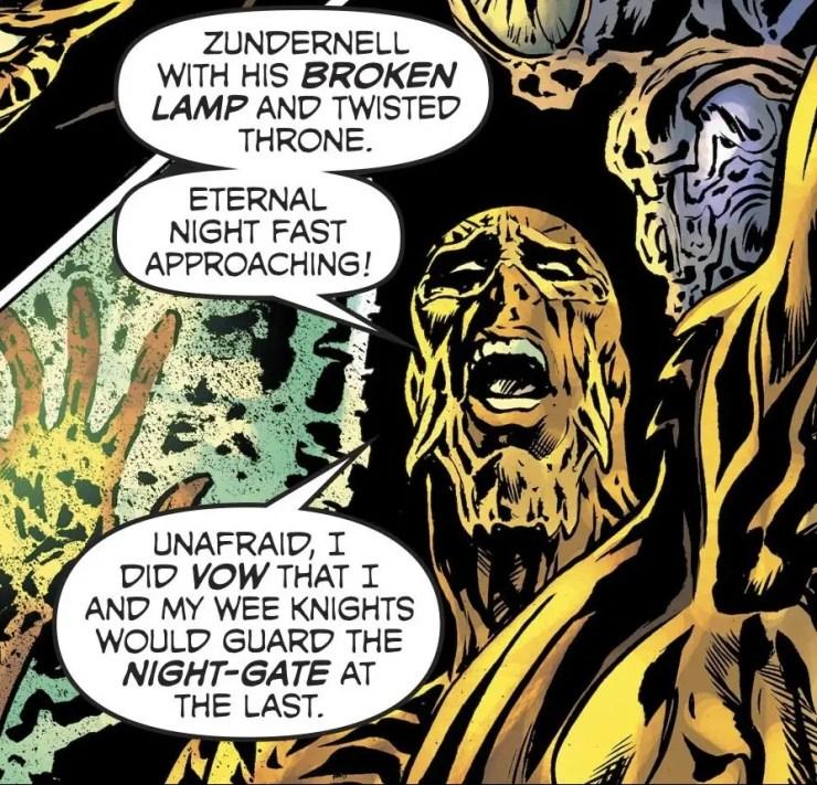 The Green Lantern: Blackstars #1 Annotations: Brave New World